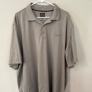 Greg Norman Polo Golf Shirt XXL 2XL Gray